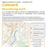 Heathlands Road Resurfacing Info