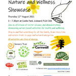 poster about Nature and Wellness Showcase event
