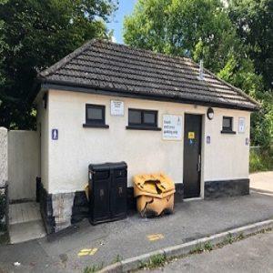 Westbourne car park toilet block
